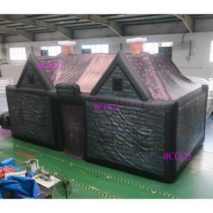 10x5x5m Бесплатная доставка надувной ирландский паб паб, ирландский паб дом для открытой вечеринки, карнавал надувные батончики