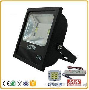 светодиодные прожекторы 100 Вт промышленные наружные прожекторы для строительства parl square meanwell driver AC85-265V led canopy lights
