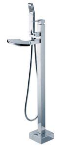 krom Dikili Küvet Bataryası bathrooom kullanım el duşu hortumu