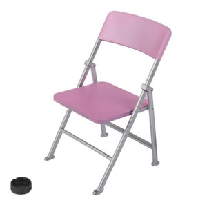 1 6 Scale Dollhouse Miniature Furniture Folding Chair for Dolls Action Figure