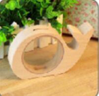 Articoli da regalo DHL di legno animale di risparmio dei soldi della scatola per i bambini Elephant Banche Piggy Pig Whale Hippo denaro Piggy Bank Partito Event favore nt