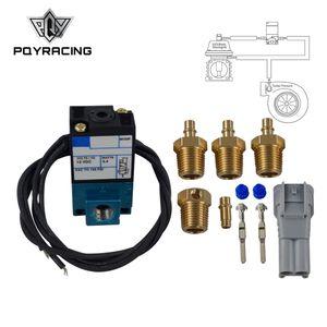 PQY - Elettrovalvola solenoide controllo elettronico a 3 vie 35A-ACA-DDBA-1BA con silenziatore in ottone PQY-ECU00