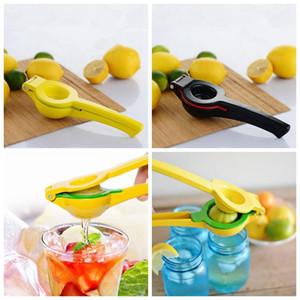Double Bowl Lemon squeezer outil orange Citrus jus de lime manuel de presse Maker cuisine Gadgets 2 couleurs de la OOA1902