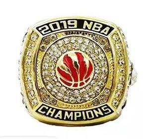 Drop Shipping 2019 Raptor Basketball Thampionship Кольцо для болельщиков US Размер 11 # (Более 20 колец DHL Free Can Mix Mix)