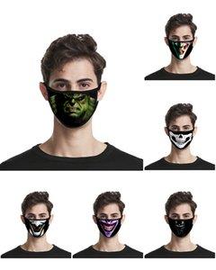 2020 Designer Gesichtsmaske Held Cosplay Joker Superheld-Partei-Thema-Kostüm-erwachsenes Kostüm Zubehör Halloween Marvel Super