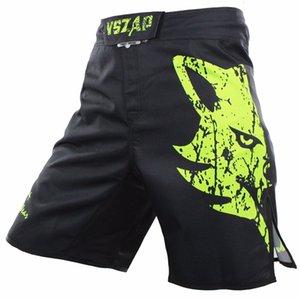 VSZAP Pantalon MMA Pantaloncini Cheap Mens Mma abbigliamento traspirante Shorts di cotone Combatti Grappling Boxing Muay Thai Pantaloni Boxeo