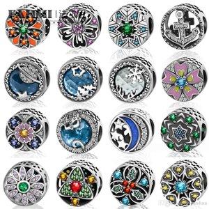 Donia 100% 925 jóia do casamento Sterling Silver Charming encanto frisados DIY Moda Mulheres de Pulseira de frete grátis Pandora