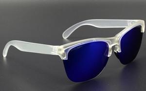 Atacado-polarizada óculos de sol transparente framCycling óculos de sol moda óculos de proteção UV óculos de condução Cool óculos de sol navio livre