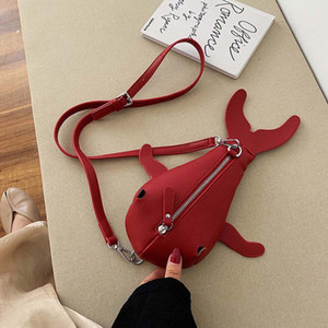 Cute cute cartoon small schoolbag female trendy Korean version of the wild messenger bag personality fashion chest bag