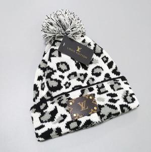 Winter Hat Теплые трикотажные шапки Женские шапки шапки унисекс