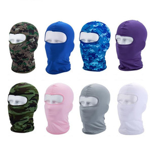 Heißer Verkauf neuer Stil Winter Outdoor Reiten Halten Sie Warme Maske Windsack Staubdichte Kopfbedeckung Maskierte Gesichtsgarde Hut Party Maske T9I00133
