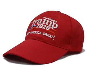 Le plus chaud président Trump 2020 Caps garde l'Amérique grand chapeau casquette de baseball de sport de mode pour les hommes et les femmes gros bateau libre