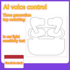 Número de serie válido AP3 pro Generación de carga inalámbrica 3 Sensor renombrar h1 chip Auriculares Bluetooth auto pelado Auriculares pop up windownes