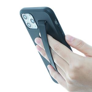 для iPhone 11 про ремешок ТЬФЫ тонкий чехол Fit с утилиту Smart Силиконовый держатель ремешок совместим с iPhone 11 Pro - черный