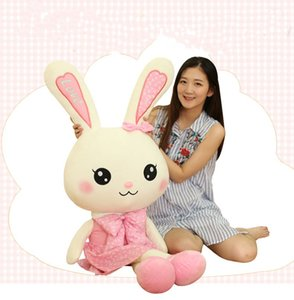 2019 cute rabbit baby soft plush toys for children bunny sleeping mate stuffed &plush animal baby toys for infants