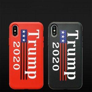 Moda Mobile Shell Cartas Trump 2020 Modelo de estrella color puro casos de teléfono celular para Iphone XS MAX XR 8 7 6 Plus6cy E1