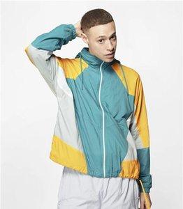 Herbst-aktive beiläufige Kleidung Mens Solid Color Sport Designer-Jacken mit Kapuze Langarm Luxurt Homme Kleidung
