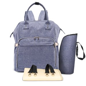 USB Baby Diaper Bag Backpack Large Capacity Mummy Maternity Nursing Bag Travel Stroller Baby Nappy Waterproof