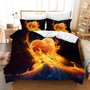 Punk Skull Bedding Set Bed Linen Poplin Couple Bed Sheet Duvet Cover Sets Euro Kids Comforters Twin Quilt Overtrek Linen
