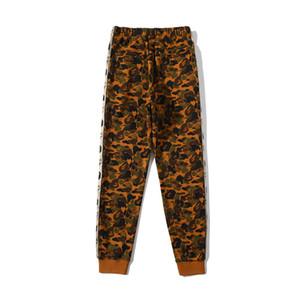 Nuovo arrivo Adolescente Deserto Terry Camo Hip Hop pantaloni da uomo nero delle donne del fumetto stampano i pantaloni allentati
