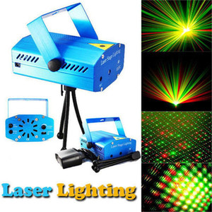 New Mini LED R&G Laser Projector Stage Lighting Adjustment DJ Disco Party Club Light Free shipping FEDEX DHL