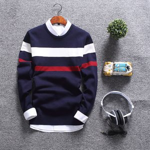 New Fashion Autumn Sweater Men Round Collar Soft Pullover Men Slim Fit Mens Sweaters Casual Male Christmas Sweater 2020