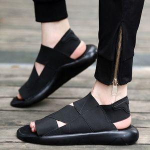 Venta caliente de la venta del nuevo del verano-Y3 qasa sandalia Negro Nueva Y3 sandalias Kaohe Para Hombres Mujeres Y3 zapatillas de alta calidad barato