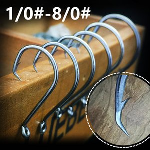 200pcs 1 0#-8 0# 7384 Crank Hook High Carbon Steel Barbed Fishing Hooks Fishhooks Pesca Carp Fishing Tackle Accessories FS_22