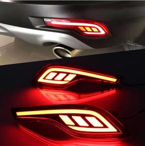 Для Honda CR-V CRV 5th Gen 2017 2018 Хромированный задний отражатель Противотуманные фары Противотуманные фары Крышка лампы Обшивки накладки Бампер Литье Гарнир Рамка