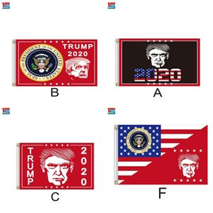 Decor Banner Trump Flag Keep America Great Banners Campaign Flags Hanging 2020 Vote Conspicuous Polychromatic Trialorder 15cg D2