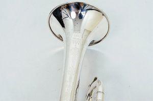 New Trumpet Pro King TP 2065 SP Trumpet B الآلات الموسيقية المسطحة أعلى + حقيبة زرقاء