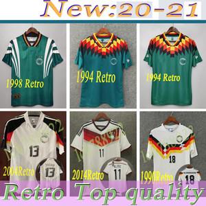 Coupe du monde 1990 1998 1988 Allemagne Rétro Littbarski Ballack Soccer Jersey Klinsmann Matthias 2006 2014 Chemises Kalkbrenner Jersey 1996 2004