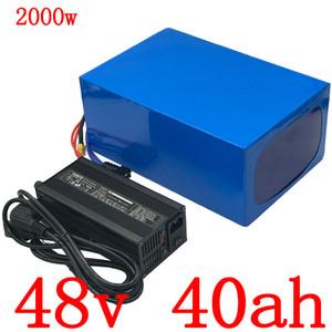 Gewohnheitssteuer 48V 1000W 1500W 2000W Elektroroller Batterie 48V 40AH Batterie elektrisches Fahrrad 48V 40AH Lithium-Ionen-Akku