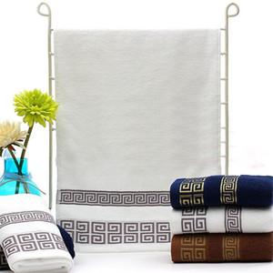 Serviette de bain 100% coton de luxe Serviette de bain de luxe Design Pure Coton Pure Serviettes de plage Home Hotel Spa Douche Toiles de toilette