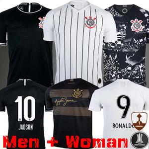 2019 2020 Brasile corinzio Paulista maglia da calcio 19 20 CLAYTON Jadson ROMERO PABLO GABRIEL calcio maglie per adulti uomo donna Camicia