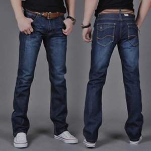 Designer Men's Jeans Spring and Summer Skinny Jeans Straight Casual Slim Jeans Business Casual Elastic