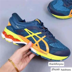 2020 YENİ GEL - Ayakkabı Kız Ayakkabı Sneakers Koşu Spor ayakkabı Hız Trainer Çorap Running KAYANO 26 küçük hipokampus Hız Eğitmen MEN