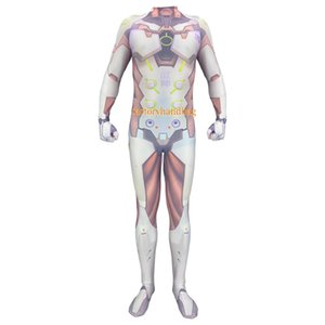 Cosplay Costume lycra Spandex Zentai Tight Children Adult Genji game clothing watch pioneer cos source costume anime