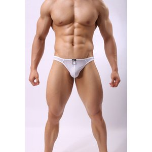 Бренд мужские стринги и G строки пенис мешок сексуальные мужчины нижнее белье трусики мужчины бикини трусы Jockstrap мужчины стринги Cueca