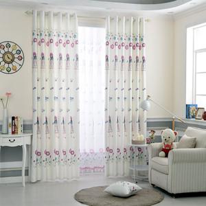 White Princess Concise Modern Girls Ombra Tende per soggiorno Sala da pranzo Camera da letto.