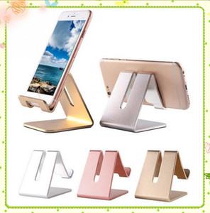 Универсальный мобильный телефон планшетный стол держатель алюминиевый металлический подставка для iPhone iPad мини Samsung смартфон таблетки ноутбук MQ30