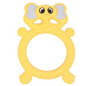 Cartoon Animal LeadingStar Dental Colla Grinding Stick Baby Food Grade Bite Giocattoli