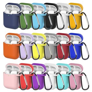 Soft Silicone Case For Airpods 1 2 For Air Pods Shockproof Earphone Protective Cover Waterproof for iphone 7 8 Headset Accessories
