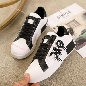 2020 new Top quality Mens leather casual shoes ,Platforms Print pattern couple shoes fashion personality wild sports shoes Xshfbcl