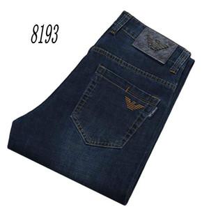 8193-2 AJ-Jeans ilkbahar ve sonbahar Pantolon Kalın kadife pantolon Erkek pantolon Stretch kot pamuk pantolon pantolon düz casual yıkanır