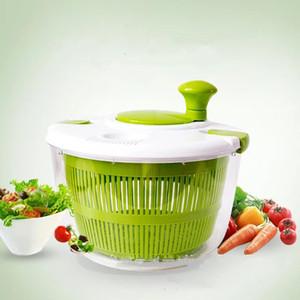 Faroot 6.5L Capacidade Durável Salada Spinner Grande Secador Apertos Livres de Frutas Desidratador de Legumes Novas Taças Suprimentos de Cozinha Verde