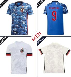 Новый 2020 Япония Футбол Джерси Главная Maillot de Foot 4 Honda 9 Оказаки 10 Кагава Футбольная рубашка Национальная команда Пользовательская Футбольная форма