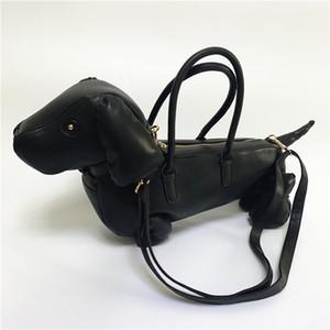 Personalità disegno del cane borsa forma di grande capacità sacchetto di svago femminile forma fumetto bello arco borsa a tracolla inclinazione