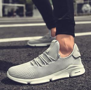 New Arrival 2020 Verão Mulheres Couro Bombas Sapatinho sandálias calçados casuais Zipper Cunhas Moda Feminina corrida sapatos confortáveis SNE-138
