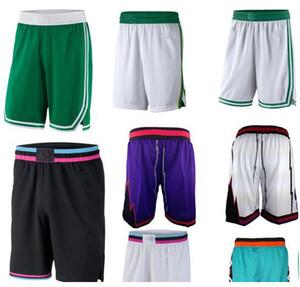 Nuevo Ligero Cómodo Baloncesto Sprots Pantalones cortos Pantalones de chándal de poliéster Gimnasio transpirable Pantalones de fitness Deportes Casual Pantalones de bola suelta Puntada